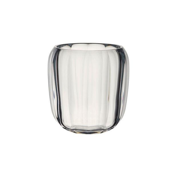 Coloured DeLight bezbarwny szklany świecznik, , large