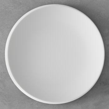 NewMoon talerz prezentacyjny, 32 cm, biały