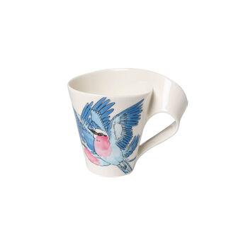 NewWave Caffè kubek do kawy Lilac Breasted Roller