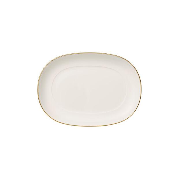 Anmut Gold półmisek na dodatki, długość 20 cm, biały/złoty, , large