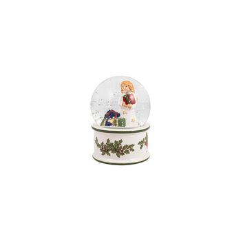 Christmas Toys mała kula śnieżna Aniołek, 6,5 x 6,5 x 9cm