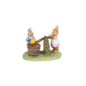Bunny Tales figurka malowanie jajek, kolorowa