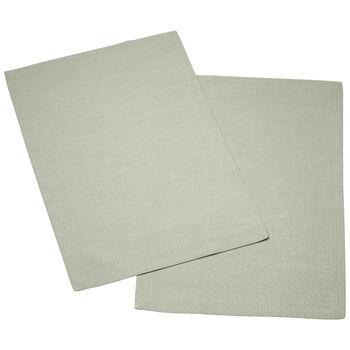 Textil Uni TREND podkładka zielona mgła zestaw 2-częściowy 35x50cm