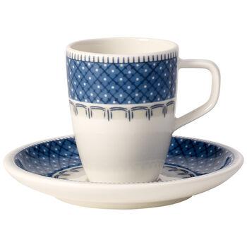 Casale Blu zestaw do espresso 2-częściowy