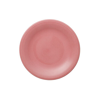Color Loop Rose talerz śniadaniowy 21x21x2cm