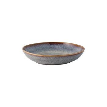 Lave Beige mała płaska miska, beżowa, 22 x 21 x 4,2 cm