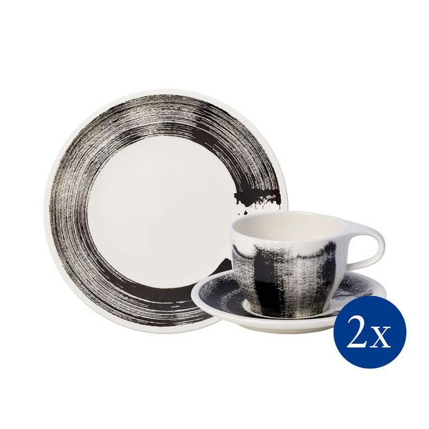 Coffee Passion Awake zestaw śniadaniowy, 6-częściowy, dla 2 osób, , large
