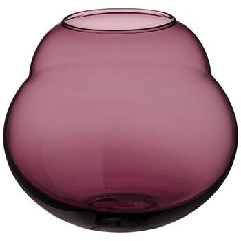 Jolie Mauve wazon / szklany świecznik