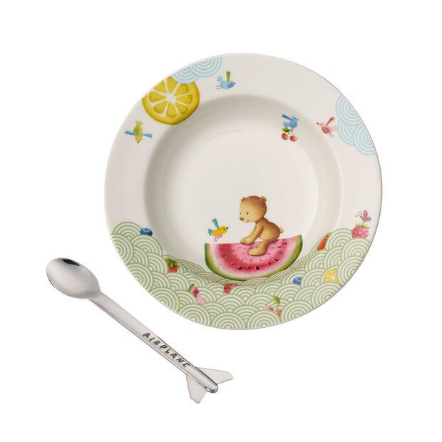 Hungry as a Bear zestaw naczyń dla dzieci 2-częściowy, , large