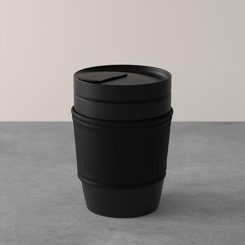 Manufacture Rock kubek do kawy To Go, 290 ml, czarny matowy