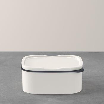 ToGo&ToStay pojemnik na lunch, 13x10x6 cm, prostokątny, biały