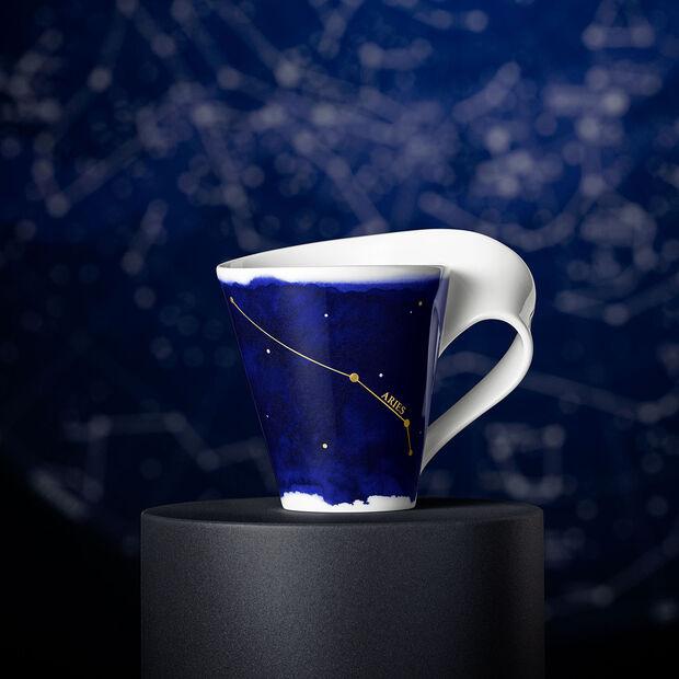NewWave Stars kubek Baran, 300 ml, niebieski/biały, , large