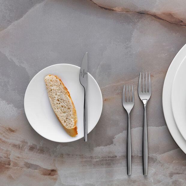 MetroChic blanc talerzyk do pieczywa, biały, , large