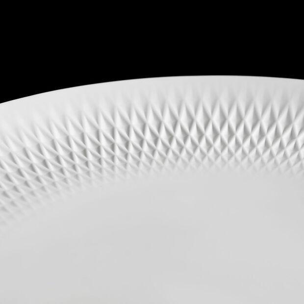 Manufacture Collier blanc miska 32x3,5cm, , large