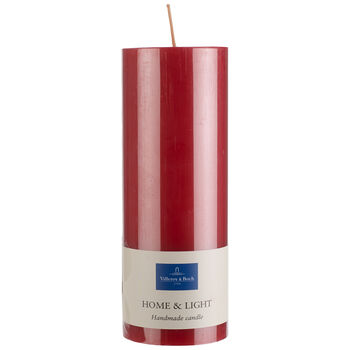 Essential Candles Świeczka czerwona 19cm