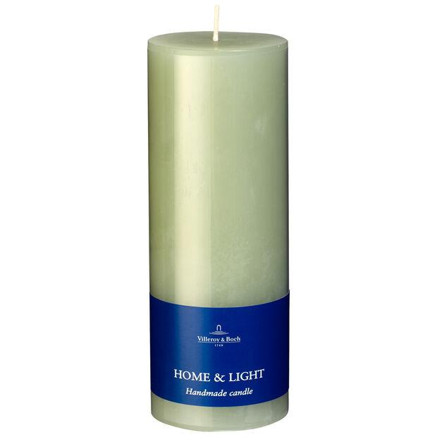 Essential Candles Fog Green Pillar 7x19 7x19cm, , large