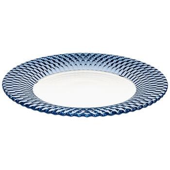 Boston Coloured talerz baza, niebieski, 32 cm
