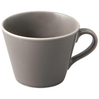 Organic Taupe filiżanka do kawy, brązowoszara, 12 x 9,5 x 7 cm