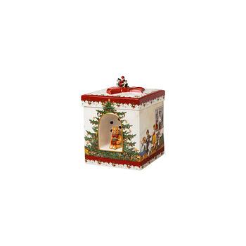 Christmas Toys Prezent duży czworokątny, 2021 16x16x21,5cm