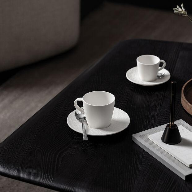 Manufacture Rock Blanc filiżanka do kawy, biała, 10,5 x 8 x 7,5 cm, , large