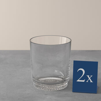 like by Villeroy & Boch it's my match zestaw szklanek do wody, przezroczysty, 9 x 10 cm, 2-częściowy