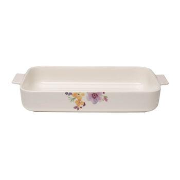 Mariefleur Basic prostokątne naczynie do zapiekania 34 x 24 cm