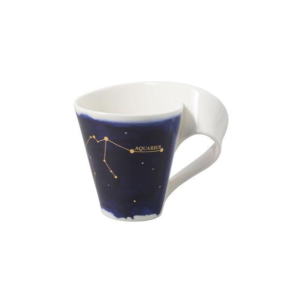 NewWave Stars kubek Wodnik, 300 ml, niebieski/biały, , large