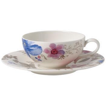 Mariefleur Gris Basic Filiżanka do herbaty ze spodkiem 2 szt.