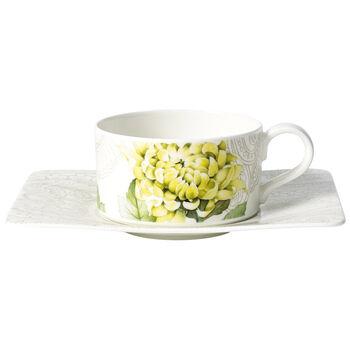 Quinsai Garden Filiżanka do herbaty ze spodkiem 2 szt.