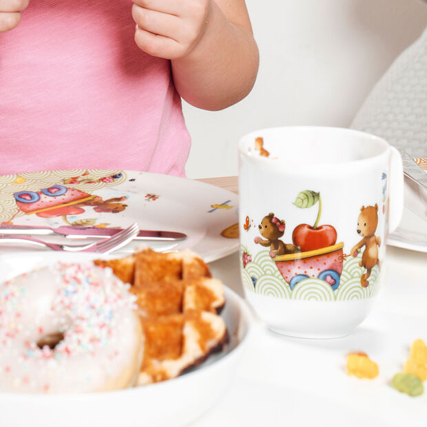 Hungry as a Bear Kubek dla dzieci duży 11,5x8x9,5cm, , large