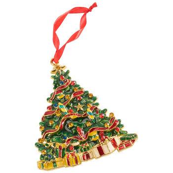 Winter Collage Accessoires metalowa zawieszka drzewo, kolorowa, 12cm