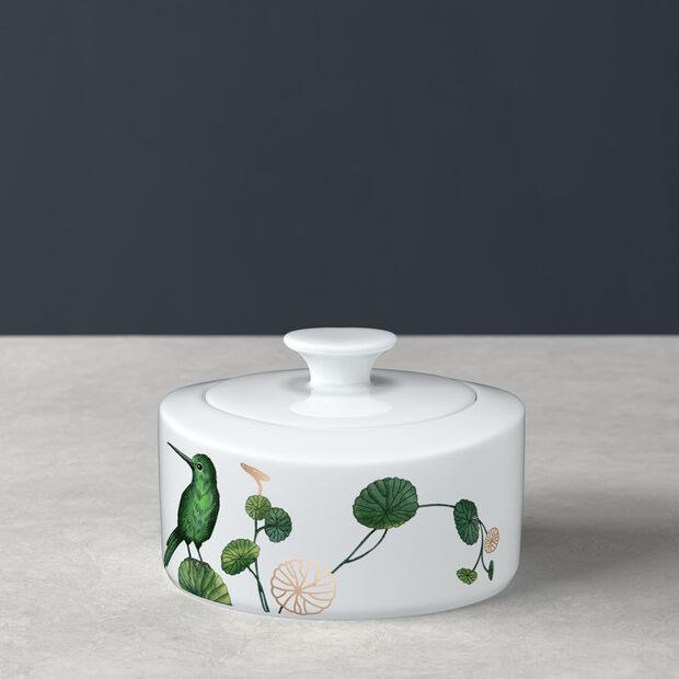 Avarua cukiernica i pojemnik na marmoladę, 330ml, biały/wielokolorowy, , large