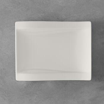 NewWave prostokątny talerz śniadaniowy 26 x 20 cm