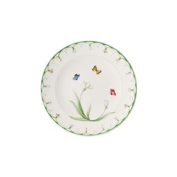 Colourful Spring talerzyk do pieczywa, biały/zielony