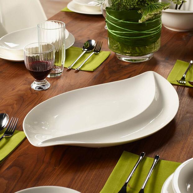 New Cottage Special Serve Salad talerz do serwowania 50x30cm, , large