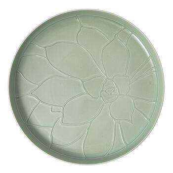 it's my home taca Socculent, 34cm, zielony/biały