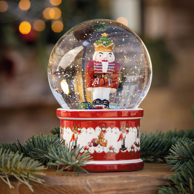 Christmas Toys Kula śnieżna duża, 2021 13x13x17cm, , large