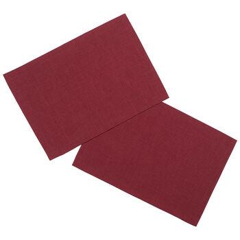 Textil Uni TREND podkładka bordowa zestaw 2-częściowy 35x50cm