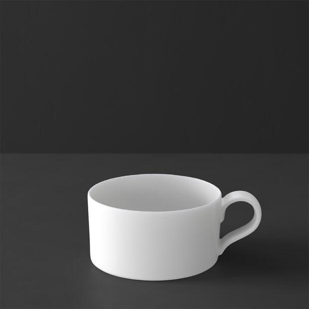 MetroChic blanc filiżanka do herbaty, 230 ml, biała, , large
