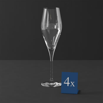 La Divina kieliszek do szampana, 4 sztuki