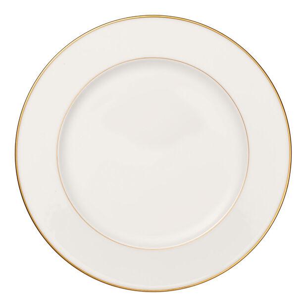 Anmut Gold okrągły półmisek, średnica 32 cm, biały/złoty, , large