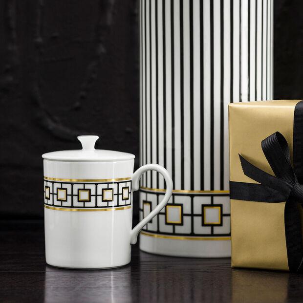 MetroChic Gifts Kubka z pokrywką 11,5x8,5x11cm, , large