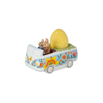 Bunny Tales figurka autobus, kolorowa