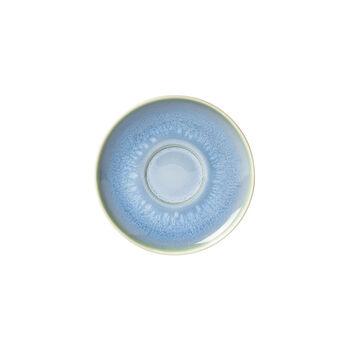Crafted Blueberry spodek do filiżanki do kawy, turkusowy, 15 cm