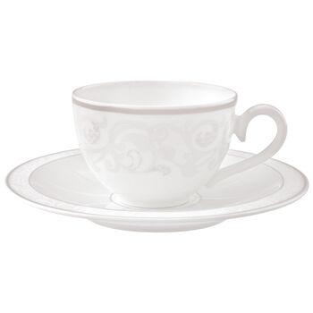 Gray Pearl Filiżanka do kawy/herbaty ze spod.2 szt