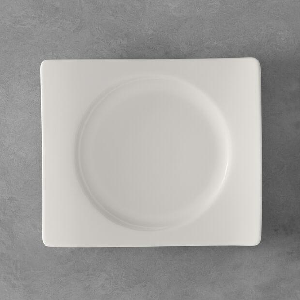 NewWave prostokątny talerz śniadaniowy 24 x 22 cm, , large