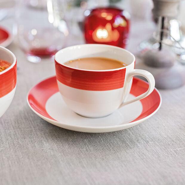 Colourful Life Deep Red spodek do filiżanki do kawy, , large