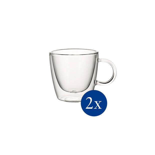 Artesano Hot&Cold Beverages Szklanka z uchem  M set 2 pcs. 80mm, , large