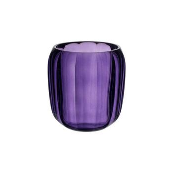 Coloured DeLight szklany świecznik Gentle Lilac