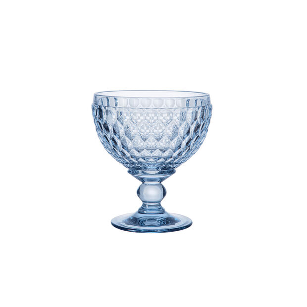 Boston Coloured szampanówka i pucharek, niebieski, 12,5 cm, , large